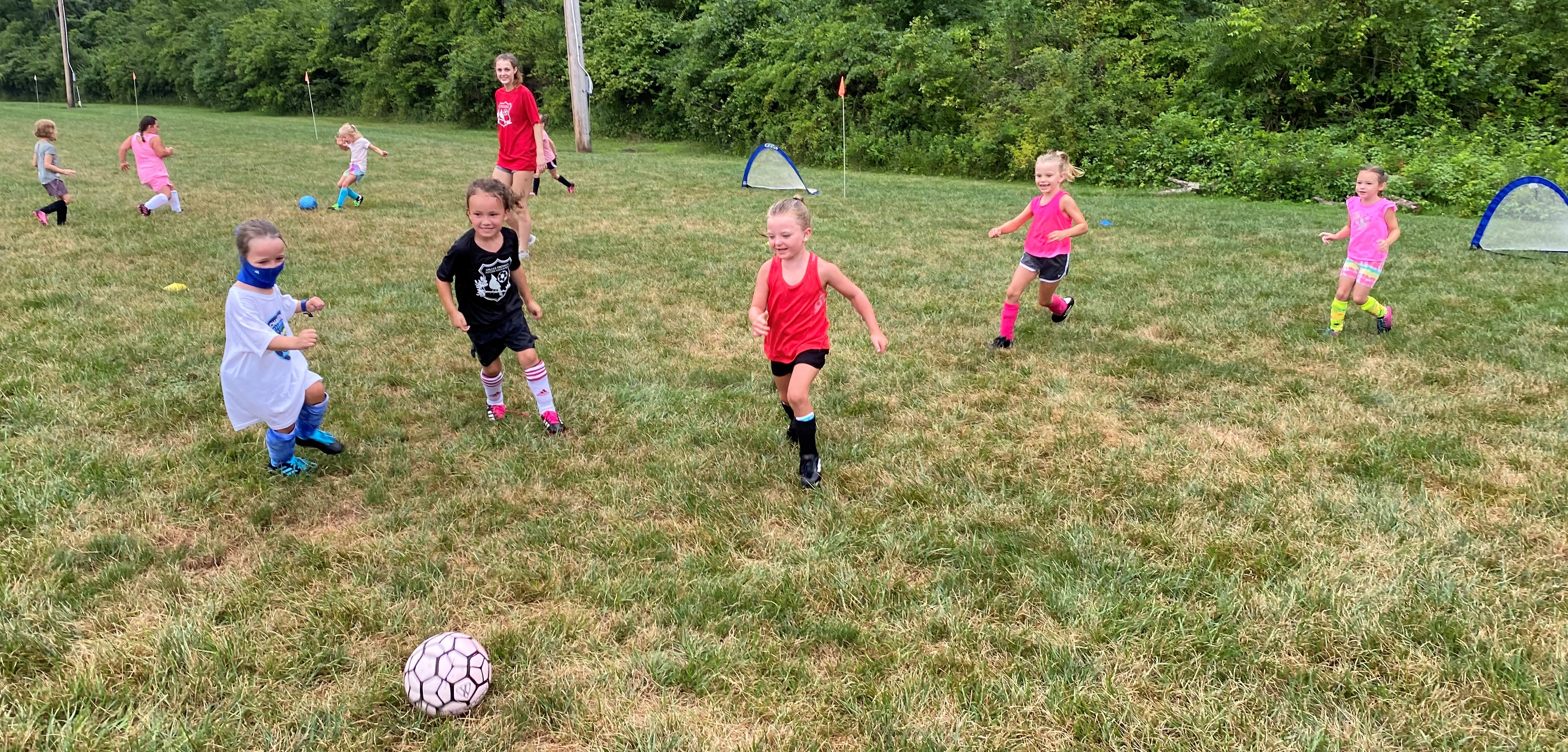 Having Fun and Playing Hard at the 2020 GSE Soccer Camp
